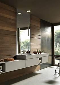 salles de bain design design petite salle de bain youtube With carrelage adhesif salle de bain avec boule led philips