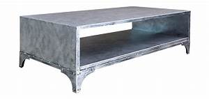 Table Basse Jardin Metal : table basse en m tal achetez nos tables basses en m tal vintage rdv d co ~ Teatrodelosmanantiales.com Idées de Décoration