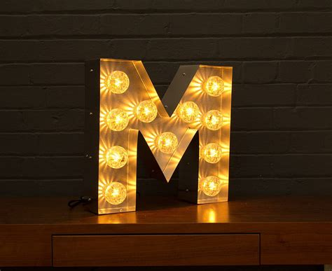 light up letter light up marquee bulb letters a to z by goodwin goodwin