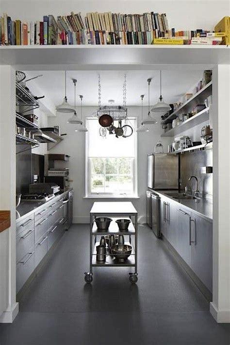 galley kitchen with island layout best 25 galley kitchen island ideas on galley 6783