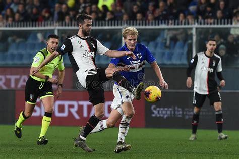 Italian Soccer Serie A Men Championship Juventus Vs Genoa ...