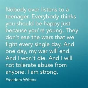 Freedom Writers Quotes. QuotesGram