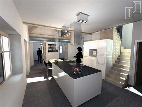 Einfamilienhaus Wohnraum Und Bad Einem by Armstark Planung Gestaltung