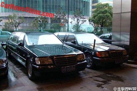 Shanghai Government Sells Eight W140 Mercedesbenz Pullman