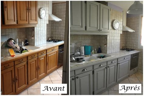 peindre armoire de cuisine en chene cuisine peinture sur meuble repeindre portes cuisine