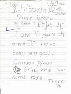 real letters to santa claus from kids images photos With childs letter to santa