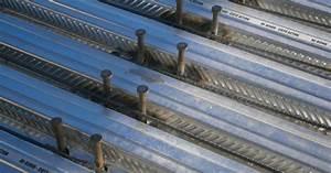 Plancher collaborant (Hi Bond 55 / HB55) SES Steel Export Service