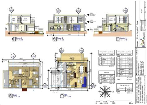 cuisine autocad plan dwg maison moderne gratuit