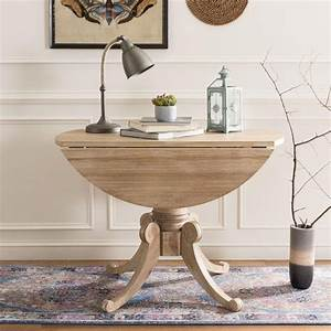 Forest, Rustic, Natural, Drop, Leaf, Dining, Table