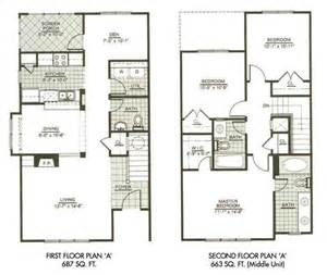 two story floor plan modern town house two story house plans three bedrooms houseplan sims floor plans