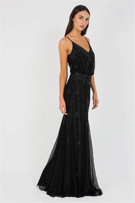 lacebeads keeva black maxi dress lacebeads party dress