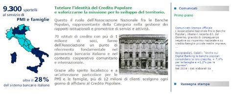 Associazione Contro Le Banche by Assopopolari Contro La Riforma Di Renzi Quot Scritta Per
