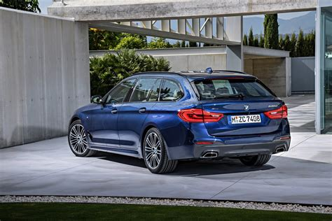 Bmw 5 Series Touring Picture by New 2017 Bmw 5 Series Touring Is A Suave Load Lugger