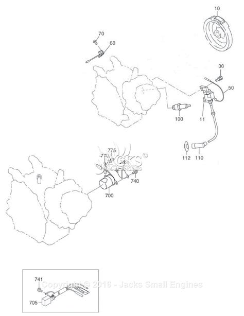 robin subaru sgx3500 parts diagram for electric device