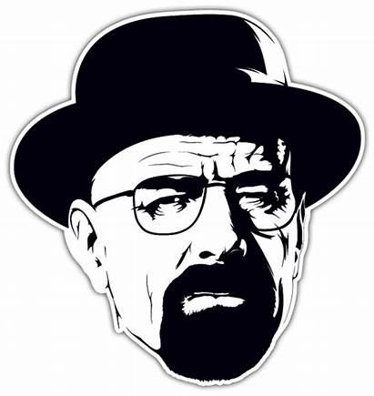 Breaking Bad Walter Heisenberg Clipart Stickers Jesse