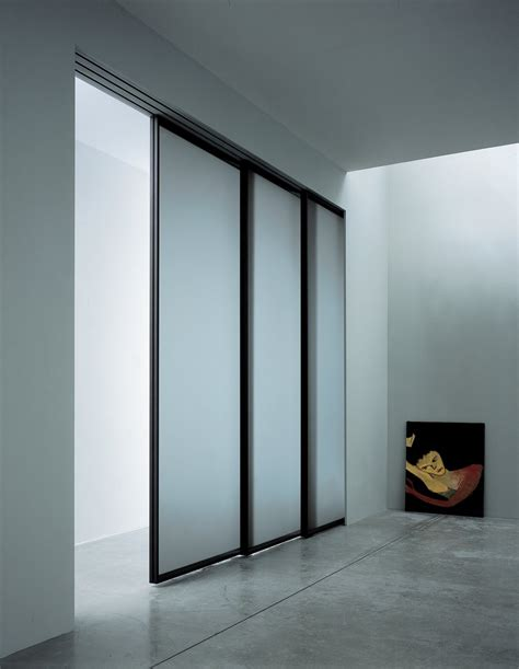 contemporary glass closet doors closet design