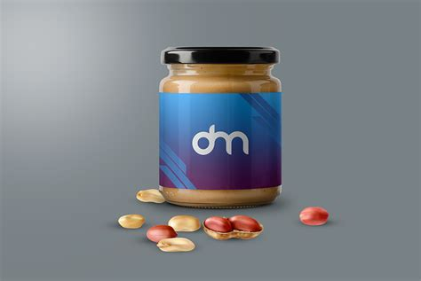 Affordable and search from millions of royalty free images, photos and vectors. Peanut Butter Jar Mockup - Free Download