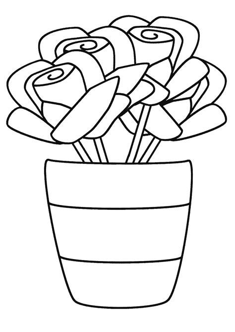 pot coloring pages    print