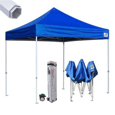 eurmax ez pop  canopy premium  industrial gazebo tent shade  bag ebay