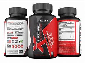 Xtreme Stamina Men U0026 39 S Testosterone Booster Pre Workout Supplement  U0026 Nitric Oxide Booster