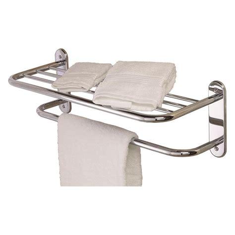 gatco essentials chrome metal towel rack at lowescom