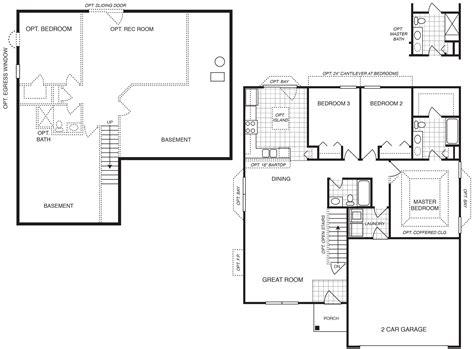 Custom Home Builders St Louis Mo Area  Tremont 3 Bedroom