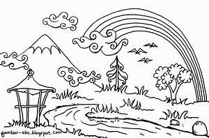 Gambar Rumah Kartun Untuk Mewarnai Gambar Rumah Adat Untuk Mewarnai