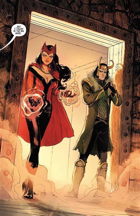 Loki And Scarlet Witch Vs Zatanna And Constantine Battles