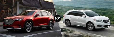 2018 Mazda Cx9 Vs 2018 Acura Mdx