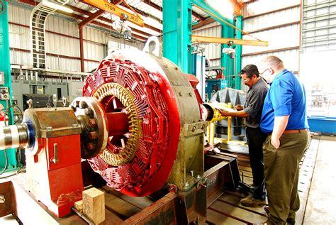 Electric Motor Standards by Bradleys Motors Large Motor Load Testing