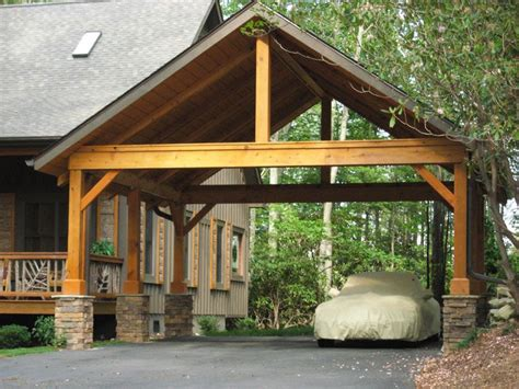 Custom-wood-carport