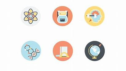 Education Icon Animated Pack Essentials Gifs Powerpoint