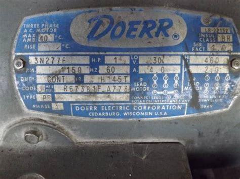 Photo Index Doerr Electric Corp Phase