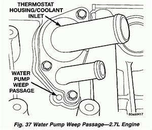 2006 Dodge Charger 2 7 V6 Engine Diagram