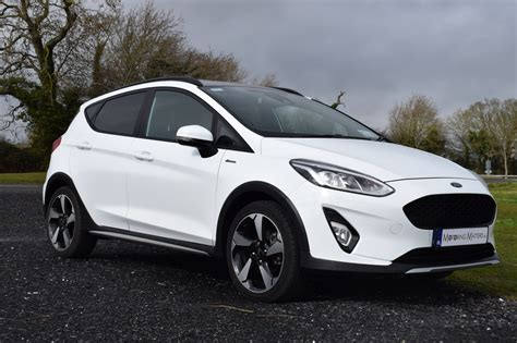 ford fiesta suv takes  active role motoring matters