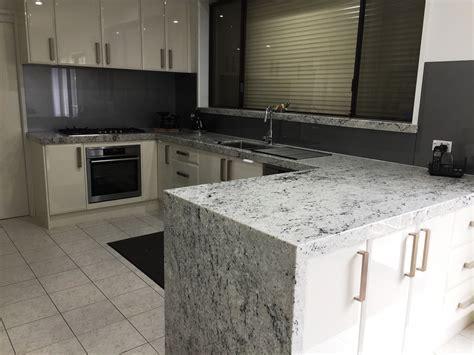 Bianco Romano Granite Benchtops