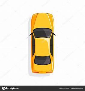 Voiture Vu De Haut : voiture dessin anim jaune vue dessus illustration vectorielle image vectorielle freshwater ~ Medecine-chirurgie-esthetiques.com Avis de Voitures
