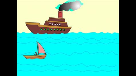 Ship Animation by Flash Animation 2d Boat Youtube