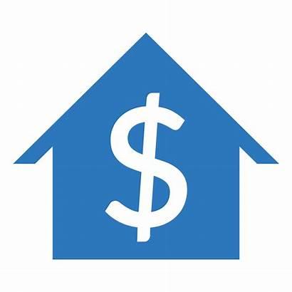 Management Services Revenue Rent Icons Financial Rental