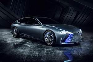 Lexus Keeps an Eye Toward Future with LS+Concept