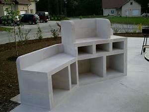 barbecue el matos constructions et passions With barbecue beton cellulaire exterieur
