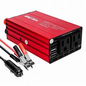 Bapdas 300w Car Power Inverter Dc 12v To Ac 110v Car