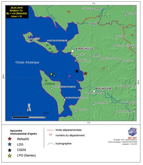 le bureau carte le bureau central sismologique français bcsf