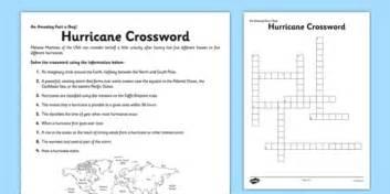 hurricane crossword worksheet worksheet hurricane fact of the day