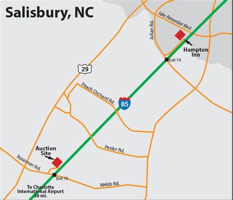 salisbury n c offender map charlotte auction site