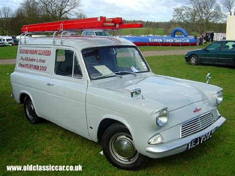 Ford Anglia 307e Van Photo At Weston Park (pic No.28 Of 105