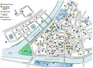 Downtown Pittsburgh Parking Map