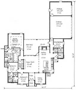 country kitchen floor plans 653449 country 4 bedroom 2 5 bath house plan with great kitchen and keeping room