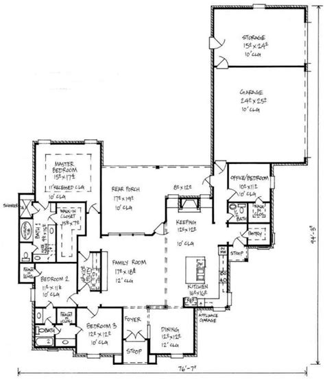bath house floor plans 653449 country 4 bedroom 2 5 bath house plan
