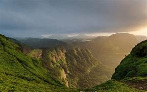nature, Landscape, Mountain, Canyon, Forest, Sun Rays ...